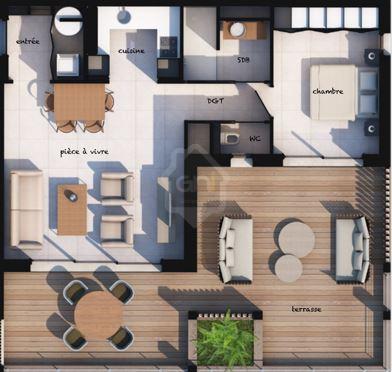 Vente appartement T2 à Lecci