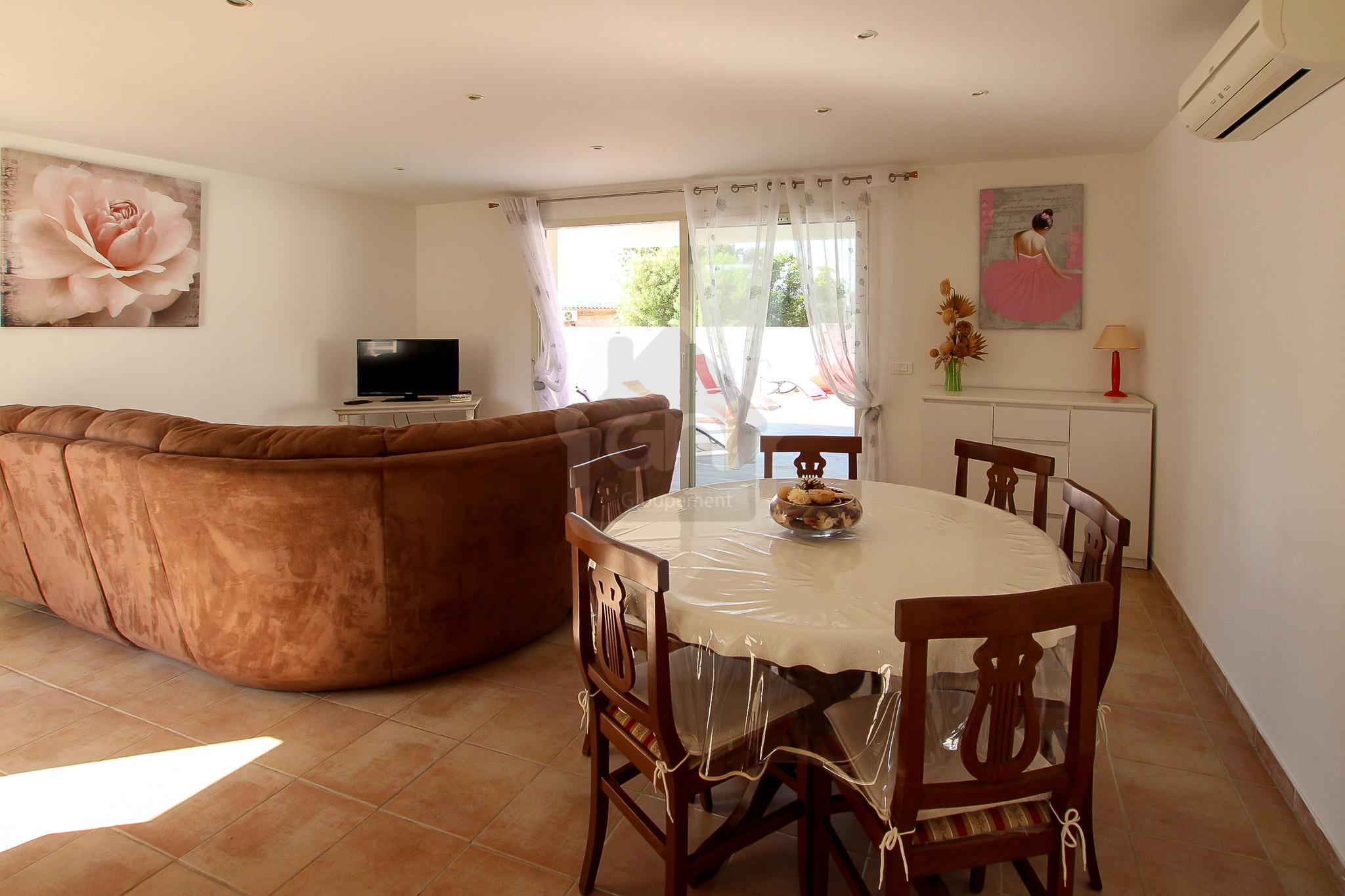 Villa T4 avec piscine – Sainte Lucie de Porto-Vecchio