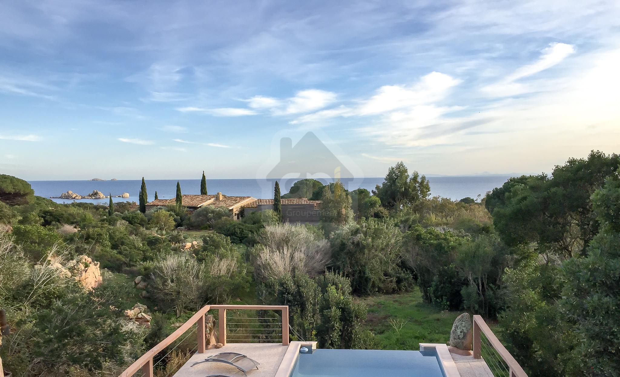 Vente villa vue mer avec annexe indépendante