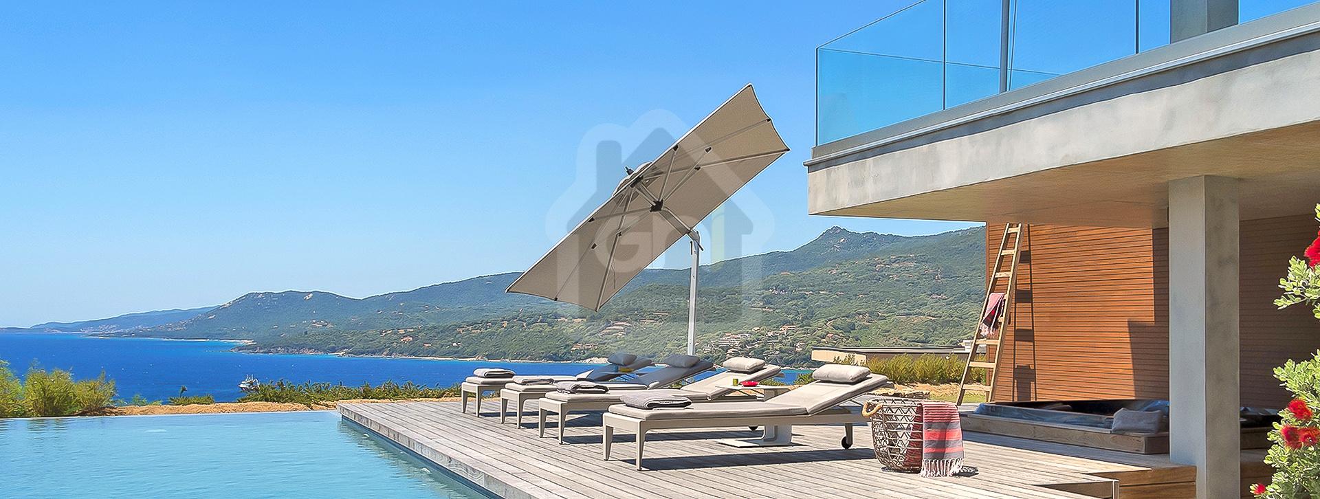 Villa de standing vue mer imprenable